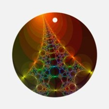 Fractal, artwork - Round Ornament