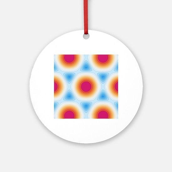 Graphene - optical properties, artwork - Round Orn