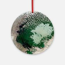 Lake Chad - Round Ornament