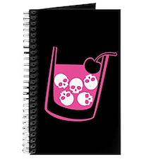 Pink Skull Cocktail Journal