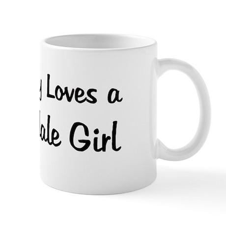 Barnesdale Girl Mug