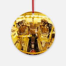 Nuclear Reactor Vessel, Sizewel - Round Ornament
