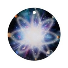 Quantised orbits of the planets - Round Ornament