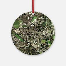 Stoke-on-Trent, UK, aerial image - Round Ornament