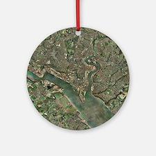Southampton, UK, aerial photograph - Round Ornamen
