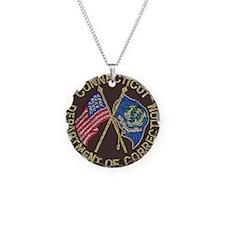 Connecticut DOC patch Necklace
