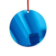 Asthma inhalers - Round Ornament