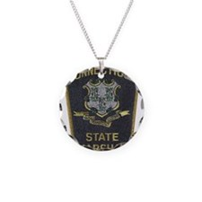 Connecticut State Marshal patch Necklace
