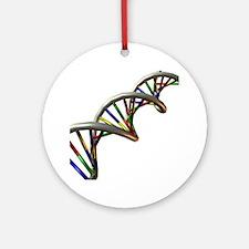 DNA molecule - Round Ornament