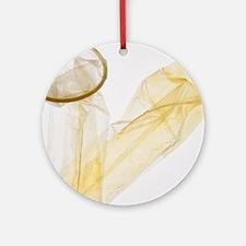 Condom - Round Ornament
