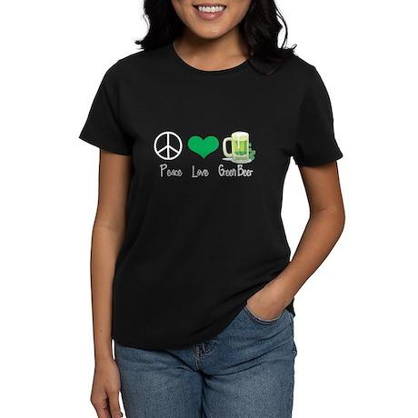 Peace Love Green Beer T-Shirt