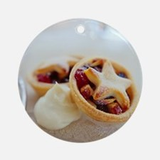 Mince pies - Round Ornament