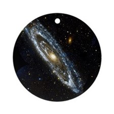 Andromeda Galaxy, UV image - Round Ornament