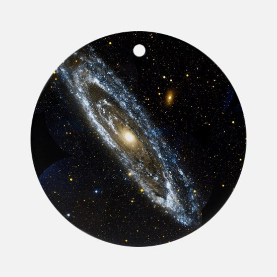 Andromeda Galaxy, UV image - Round Ornament