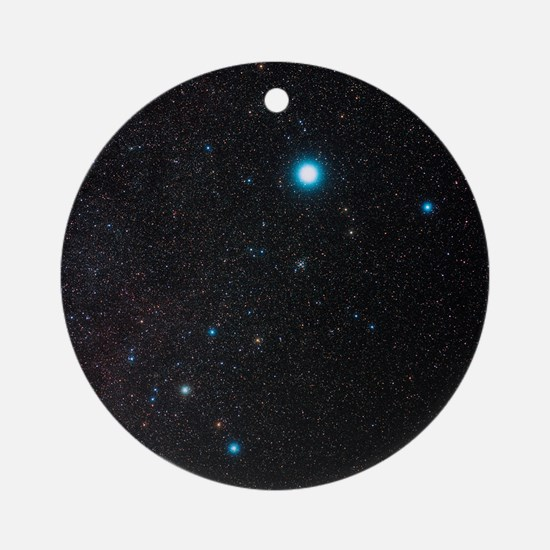 Canis Major constellation - Round Ornament