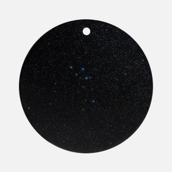 Delphinus constellation - Round Ornament