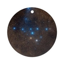 Coathanger star cluster - Round Ornament