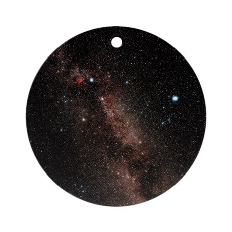 Milky way round ornament by sciencephotos - Ornament tapete weiay ...