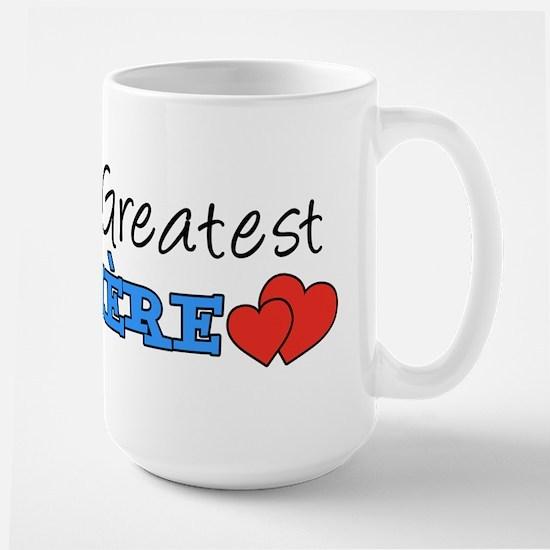 World's Greatest Memere Large Mug