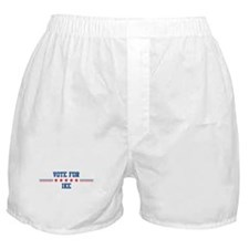 Vote for IKE Boxer Shorts