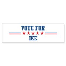 Vote for IKE Bumper Bumper Sticker