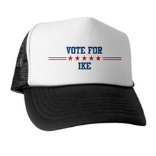 Vote for IKE Trucker Hat