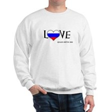 Cute Russian adoptive moms Sweatshirt