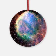 Supernova remnant IC 443, composite image - Round