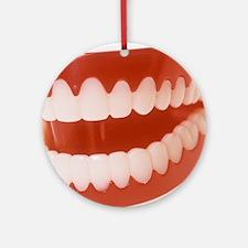 Toy teeth - Round Ornament