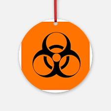 Biohazard sign - Round Ornament
