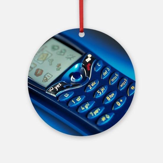 Mobile phone - Round Ornament