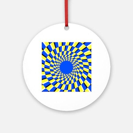Peripheral drift illusion - Round Ornament