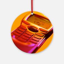 WAP mobile telephone - Round Ornament