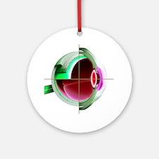 Human eye - Round Ornament