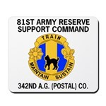 342nd A. G. Company (Postal) Mousepad