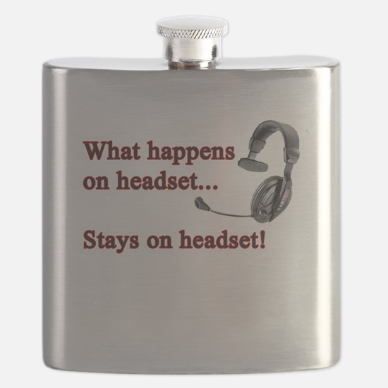 What Happens On Headset... Flask