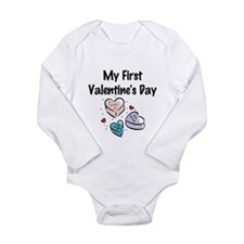 My First Valentine's Day Body Suit