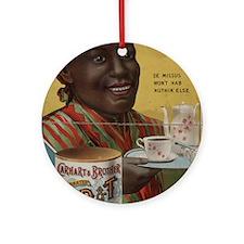 coffee Ornament (Round)