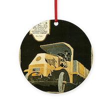 mack truck Ornament (Round)