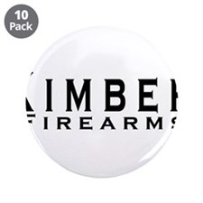 "Kimber Firearms Black Font 3.5"" Button (10 pack)"