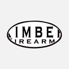 Kimber Firearms Black Font Patches