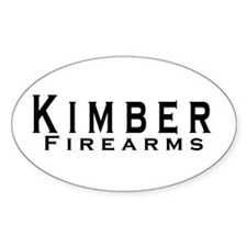 Kimber Firearms Black Font Decal