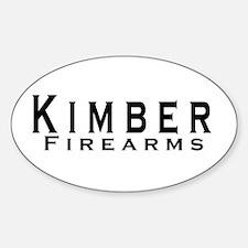 Kimber Firearms Black Font Decal