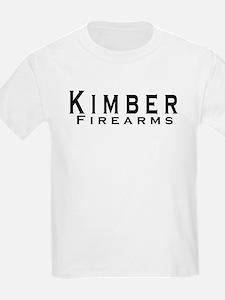 Kimber Firearms Black Font T-Shirt