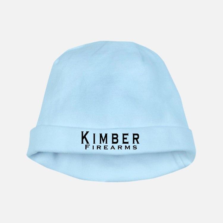 Kimber Firearms Black Font baby hat