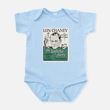 the unholy three Infant Bodysuit