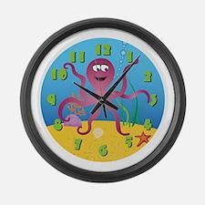 Cool Kids Large Wall Clock