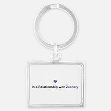 Zachary Relationship Landscape Keychain