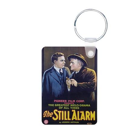 the still alarm Aluminum Photo Keychain