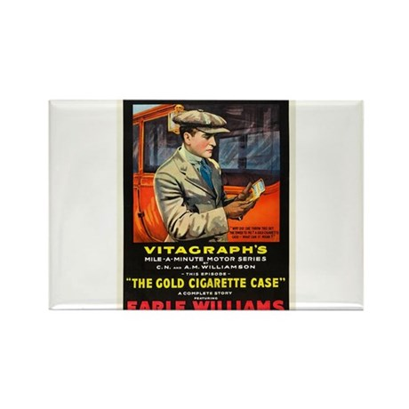 silent movie Rectangle Magnet (10 pack)